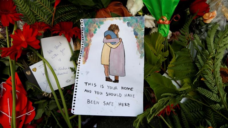 In Pictures: Christchurch residents pay tribute to victims