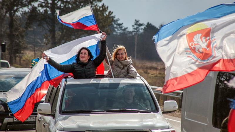 Putin visits Crimea to mark 5th anniversary of annexation