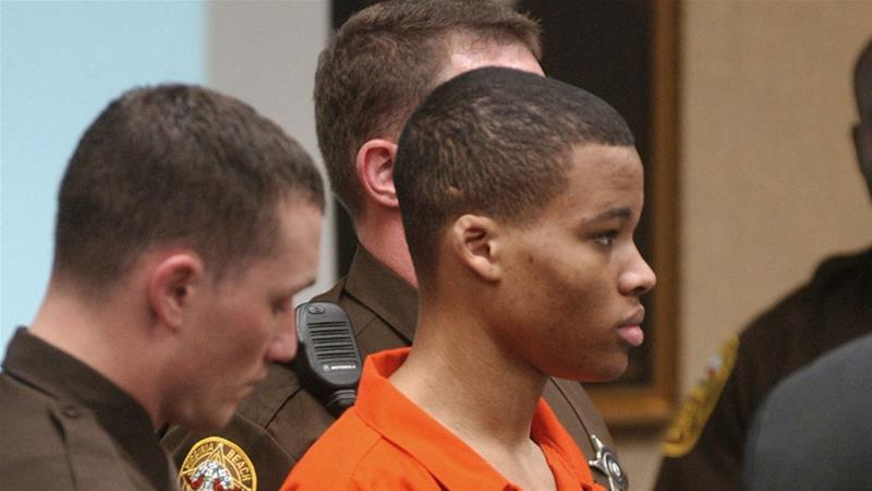 Lee Boyd Malvo, now 34, was 17-years-old when he was sentenced for his role in a deadly 2002 shooting spree in the Washington area [File: Martin Smith-Rodden/AP Photo]