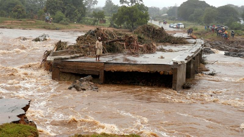 Cyclone, flooding cause widespread damage across Southern Africa
