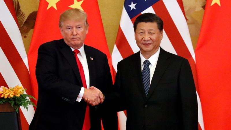 Retaliatory measures announced after President Donald Trump tweeted directly to Chinese President Xi Jinping [File: Jonathan Ernst/Reuters]