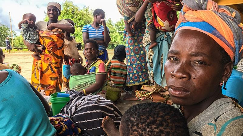 'Women, babies trapped in trees' after deadly Mozambique storm