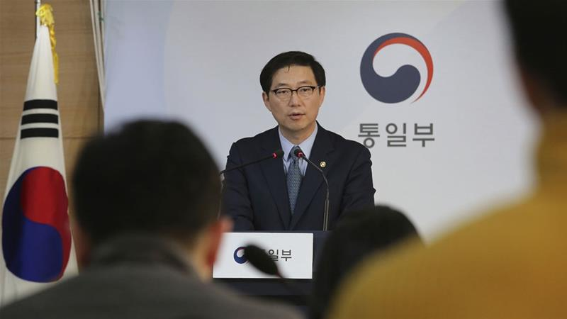 Seoul sought to keep the door open to more contact [Ahn Young-joon/AP]