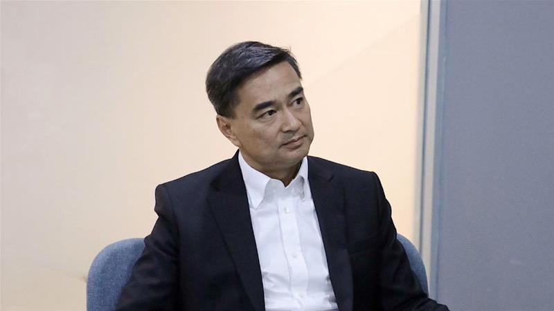 Abhisit Vejjajiva was prime minister during a bloody crackdown on protesters in 2010 [Kate Mayberry/Al Jazeera]