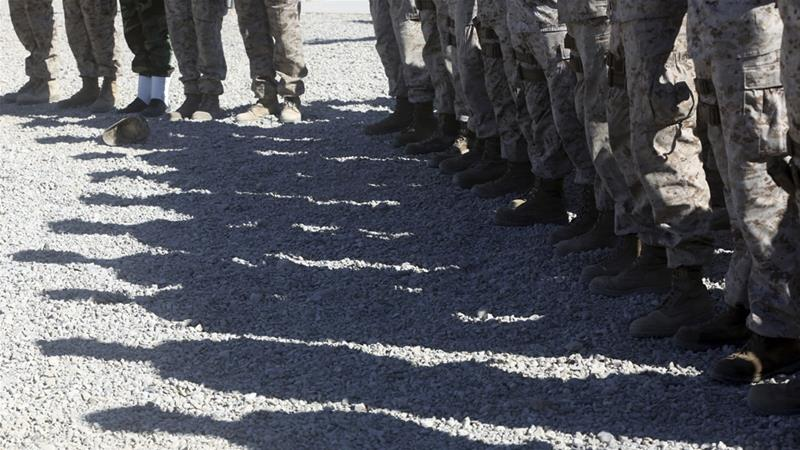 Last year, 13 US service members were killed in Afghanistan [File: Massoud Hossaini/AP]
