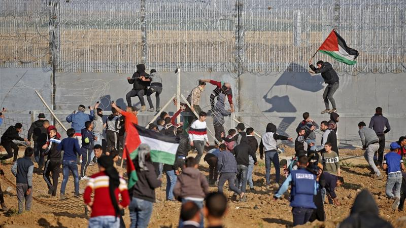 Israeli Forces Kill Two Gazans During Border Protest