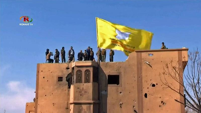 US backed SDF forces declared ISIL defeated and the 'caliphate' eliminated [Reuters]