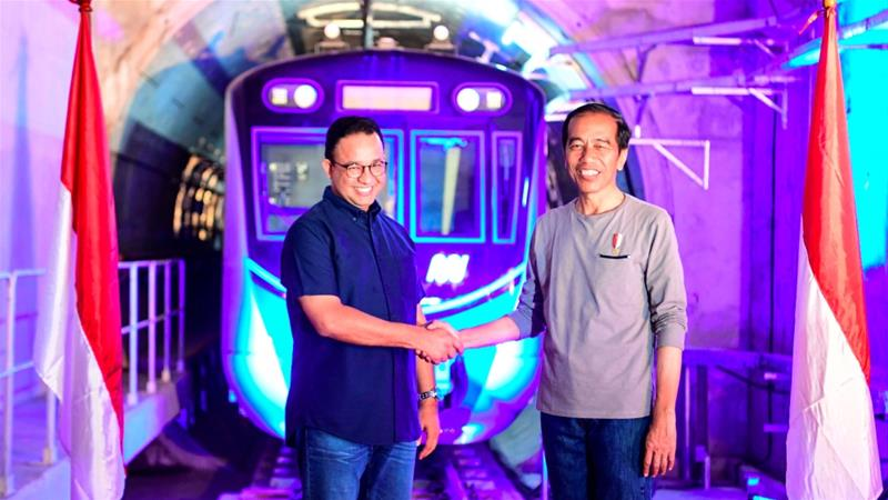 Indonesia S First Subway Opens In Traffic Choked Jakarta News Al