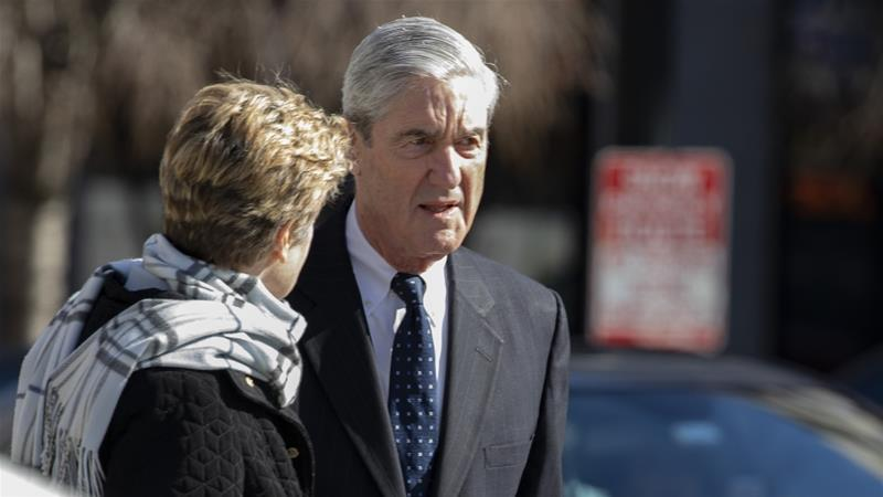 Mueller concluded his investigation last month [File: Tasos Katopodis/Getty Images/AFP]
