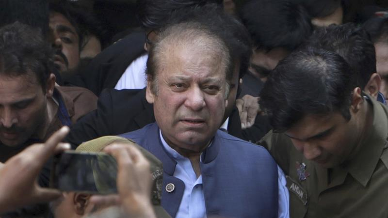 In February, the Islamabad High Court rejected Sharif's petition seeking bail on medical grounds for lack of merit [File: K.M. Chaudary/AP]