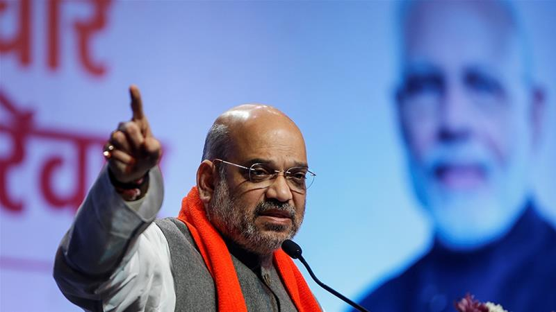Shah, a close confidant of PM Narendra Modi, assured that 'no one from any religion should be worried' [File: Amit Dave/Reuters]