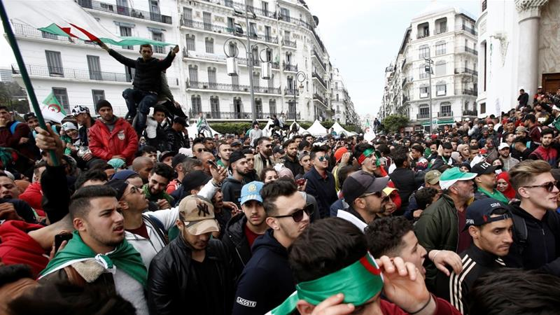 Algeria protests: President Abdelaziz Bouteflika to RESIGN after weeks of unrest