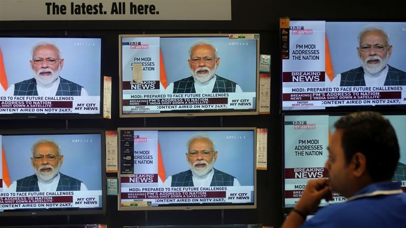 India shoots down satellite, joining space 'super league': Modi
