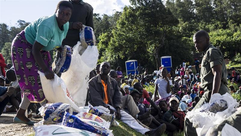 Some 270,000 people in Zimbabwe are in urgent need of aid [Tendai Marima/Al Jazeera]