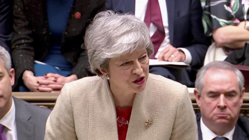 In her letter, May said she wanted to make sure that Britain left the bloc in an orderly manner [File: Reuters]
