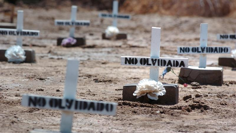 It is estimated that some 21,000 border crossers have died in desert areas near the US-Mexico border since the 1990s [File: AP/David Maung]