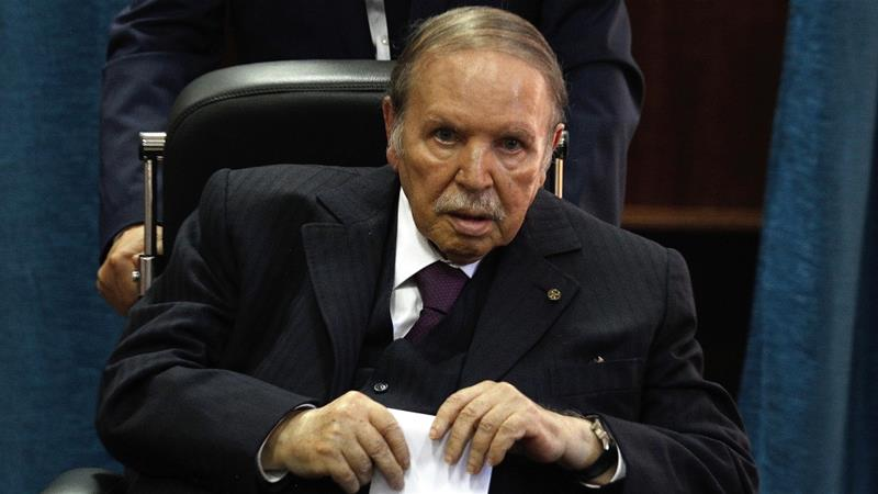 Bouteflika played an important role in shaping independent Algeria's role in world affairs [Sidali Djarboub/AP]