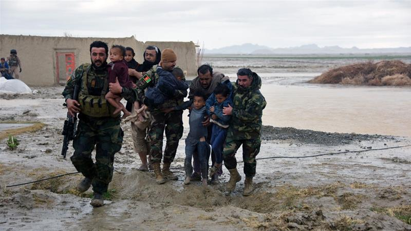 UN says heavy rains, floods kill 20 in southern Afghanistan