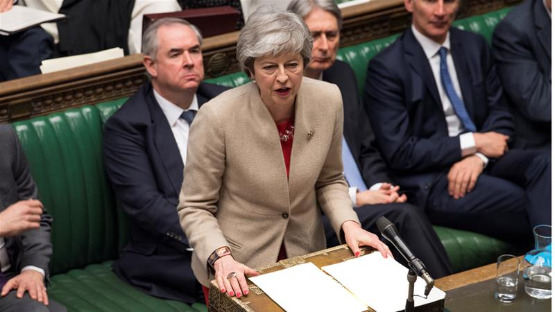 UK's Theresa May ponders fourth vote on Brexit deal