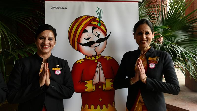 Air India's announcement has attracted mockery on social media [Getty Images]