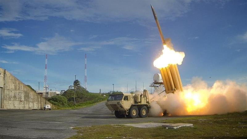 Saudi Arabia is to buy 44 THAAD launchers, missiles and related equipment from the US [File: Ralph Scott/US Department of Defense via Reuters]
