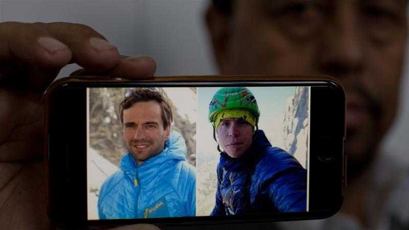 Bodies of Italian, British climbers found on Pakistan's 'Killer Mountain'