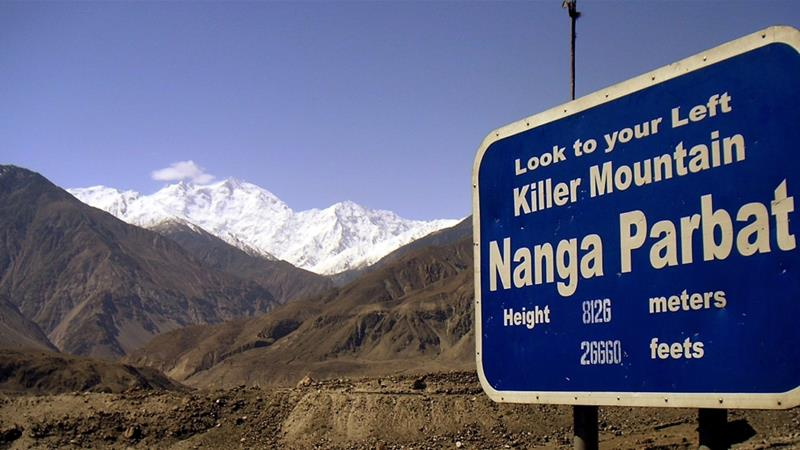 Hopes fade for climbers missing on 'killer mountain' Nanga Parbat