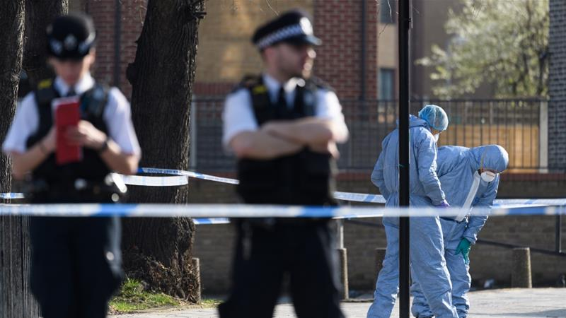 May calls urgent meetings on knife crime amid row over police numbers