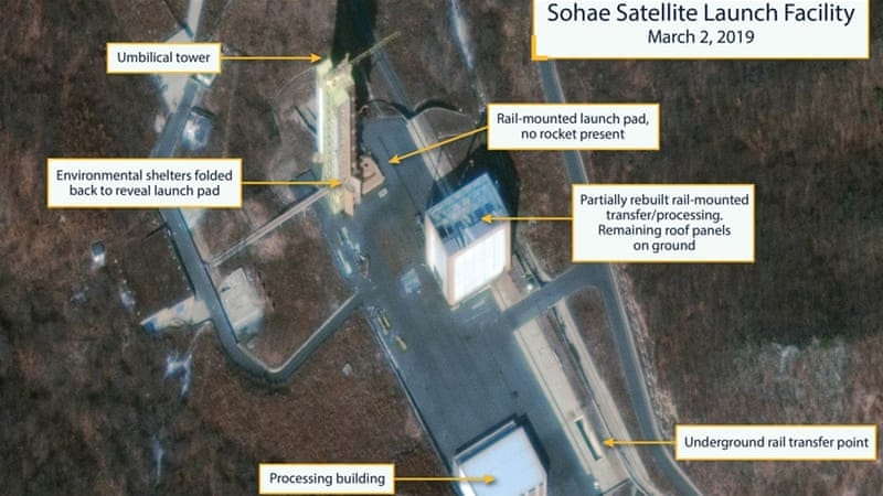 North Korea restoring part of launch site it promised to destroy