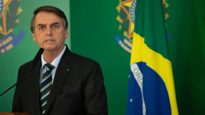 Taking aim at Carnival, Brazil president Jair Bolsanaro tweets obscene post