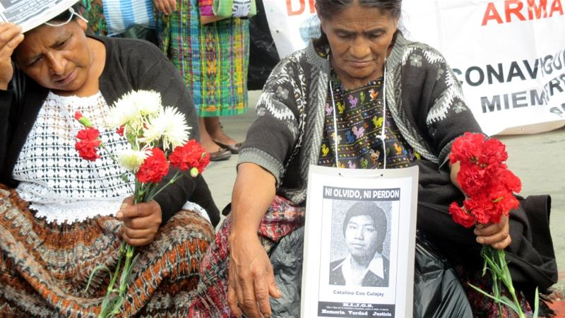 The armed conflict in Guatemala left  200,000 dead and 45,000 disappeared [File: Sandra Cuffe/Al Jazeera]