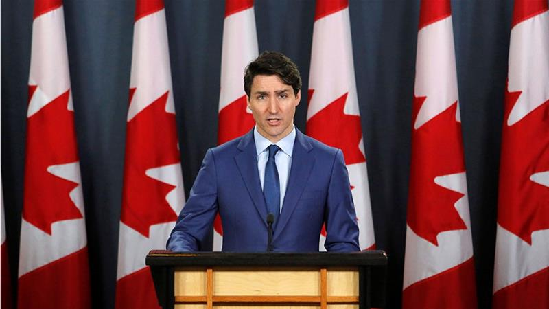 Canada's Justin Trudeau denies impropriety, offers no apology