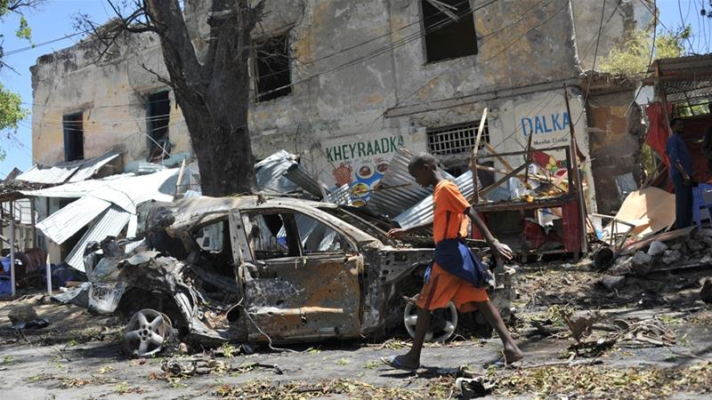 Al-Shabab car bomb attack kills seven in Somalia