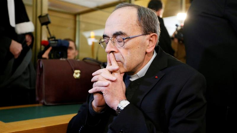 France convicts top Catholic official over sex abuse cover-up