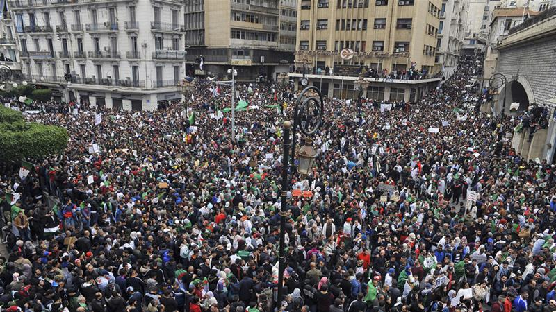 Algerian president Bouteflika announces new gov't amid protests