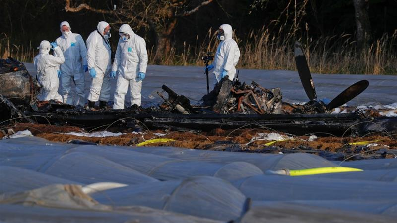 Russia airline co-owner dies in plane crash