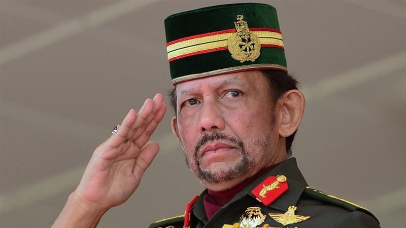 The Sultan of Brunei, Hassanal Bolkiah, 72, is the world's second-longest reigning monarch [File: Ahim Rani/Reuters]