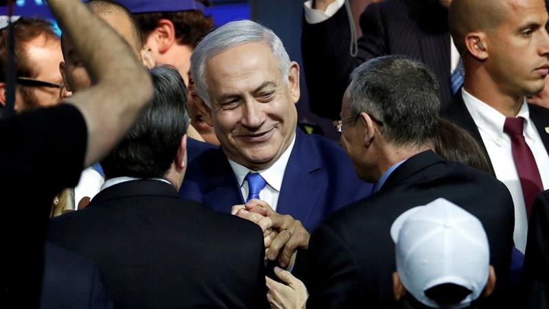Benjamin Netanyahu's rival party concedes Israeli election