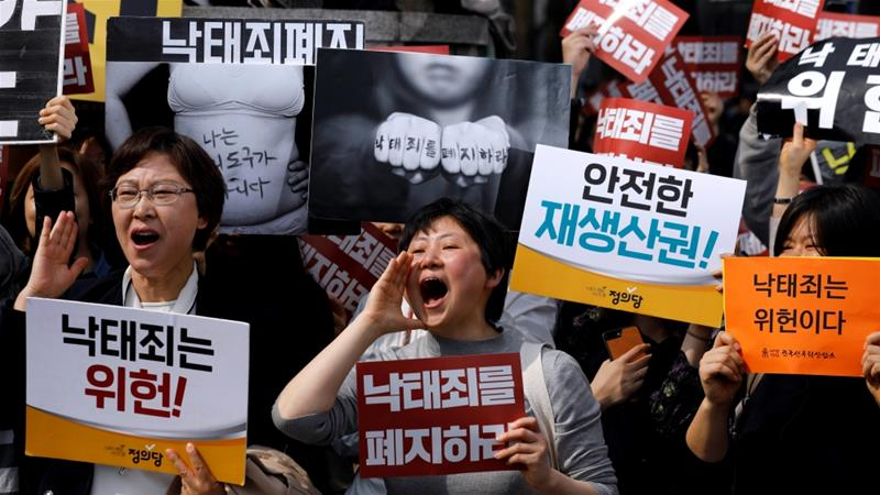 South Korea's top court orders easing of abortion ban