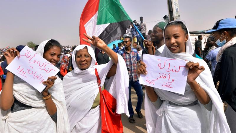 Sudan's popular protests, in 10 photos