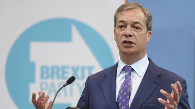 Ex-UKIP leader Nigel Farage launches Brexit Party