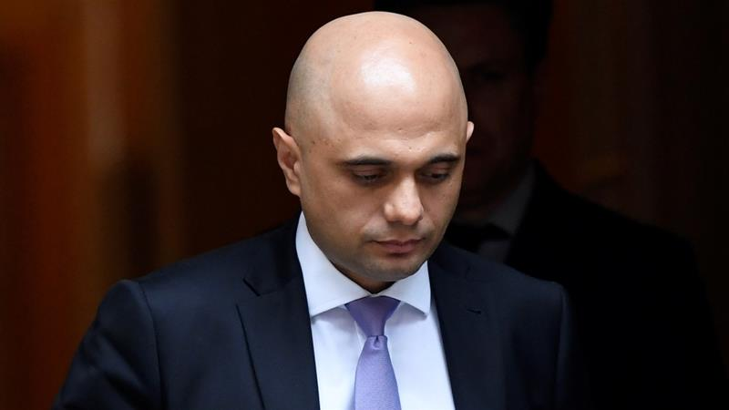 British Home Secretary Sajid Javid says the law gives police the powers they need to disrupt 'terrorist plots' [File: Toby Melville/Reuters]