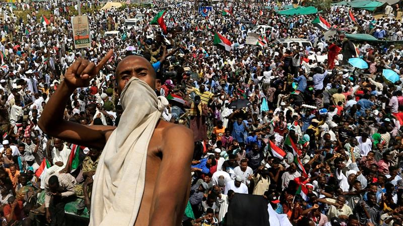 Sudan police: 16 killed by stray bullets at protests and sit-ins