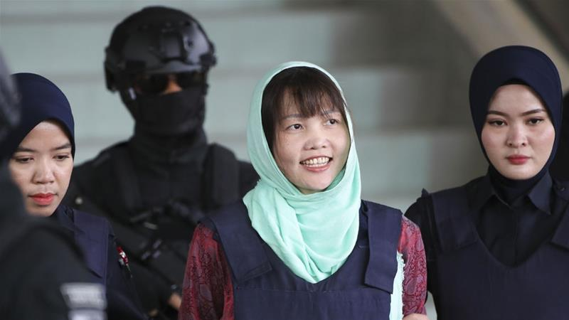 Vietnam woman in Kim brother murder to be freed on May 3