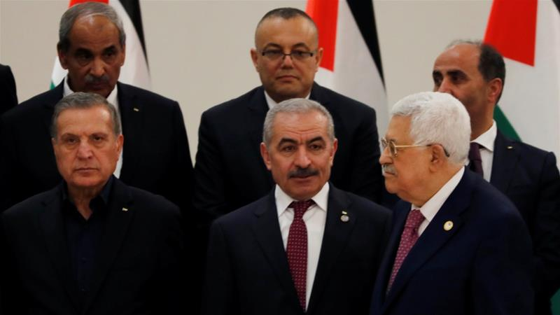 The government comprises solely PLO factions