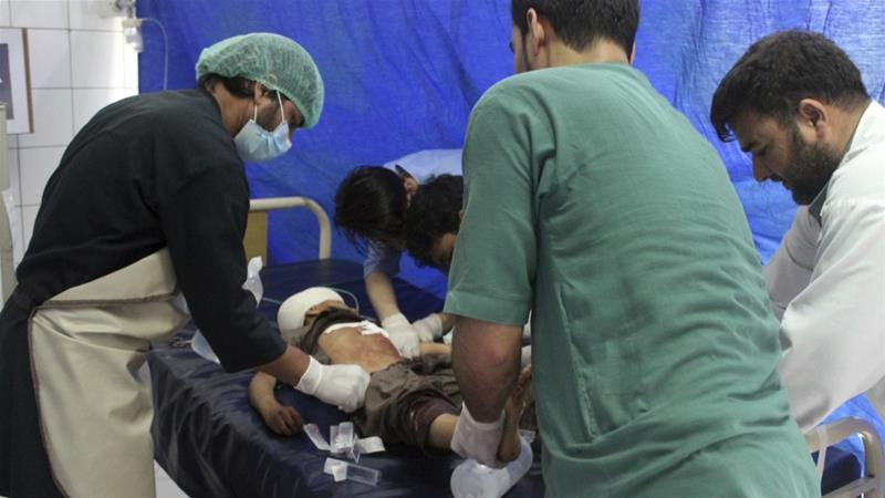 Dozens dead in Afghan conflicts, Taliban's spring offensive condemned