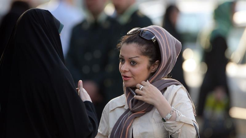 The headscarf has been in mandatory in Iran since the Iranian revolution in 1979 [File: Majid Saeedi/Getty]