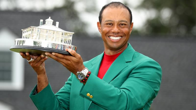 Tiger Woods wins Masters to claim first major since 2008