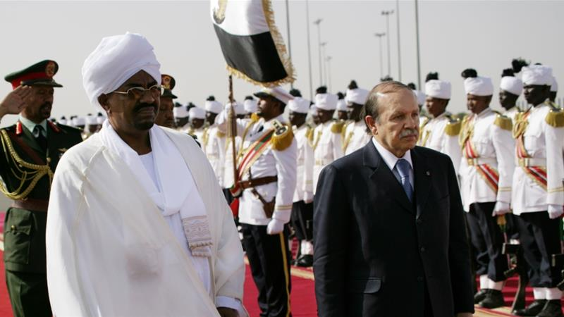 Sudan's President Omar El-Bashir and Algerian President Abdelaziz Bouteflika were ousted within two weeks of each other [File: AP Photo/Abd Raouf]