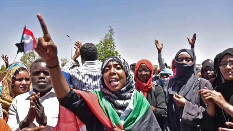 Sudan Protesters Denounce Arab Support for The Military Council